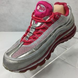 Nike Air Max 24 7 Sneaker Sz 9 Voltage Cherry Pink